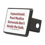 Impeachment reveals Dems Rectangular Hitch Cover