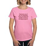 Progressives Threaten Women's Classic T-Shirt