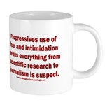 Progressives Threaten 20 oz Ceramic Mega Mug