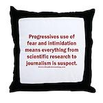 Progressives Threaten Throw Pillow
