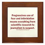 Progressives Threaten Framed Tile