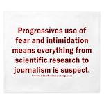 Progressives Threaten King Duvet