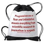 Progressives Threaten Drawstring Bag