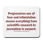 Progressives Threaten Mousepad