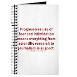 Progressives Threaten Journal