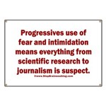 Progressives Threaten Banner