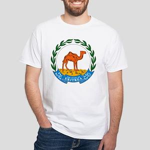 Eritrea Coat of Arms White T-Shirt