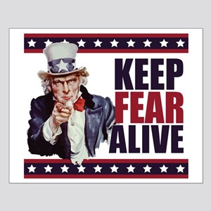 Keep Fear Alive Small Poster