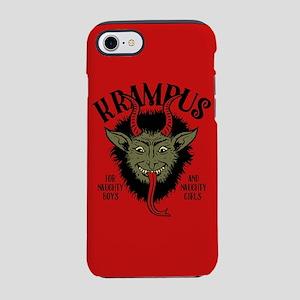 Krampus Face Naughty iPhone 7 Tough Case