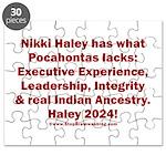 Pocahontas Lacks Puzzle