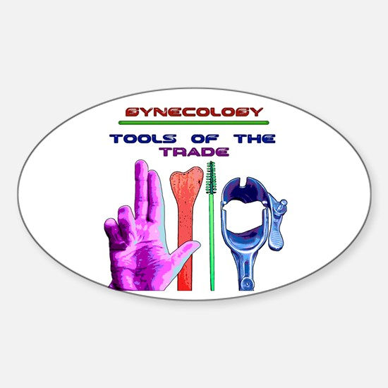 Tools of the Trade Sticker (Oval)