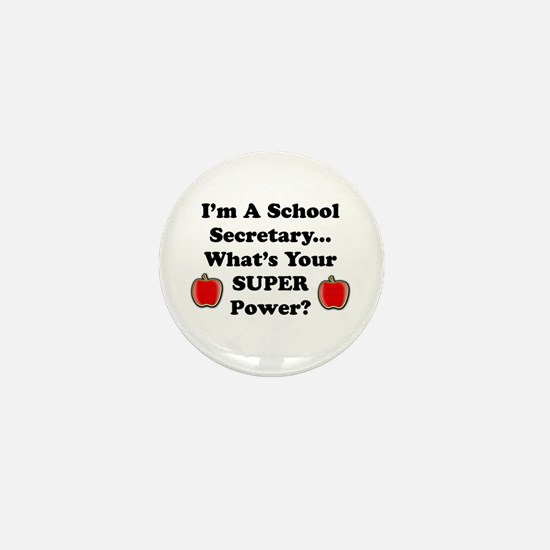 Cute Super teacher Mini Button