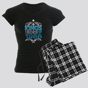 Kings Are Born In 1966 Happy Fathers Day Pajamas