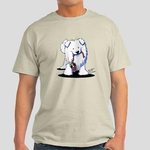 Penguin Sled Samoyed Light T-Shirt