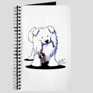 Penguin Sled Samoyed Journal