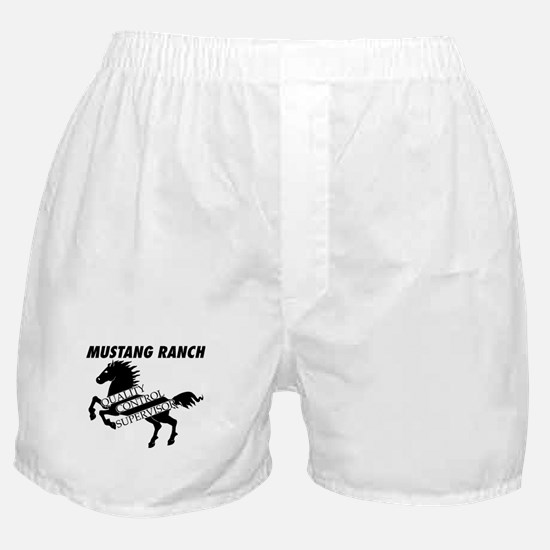 Quality Control Supervisor Boxer Shorts