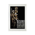 Books Wanted Poster Art Rectangle Magnet (10 pack)