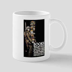 Books Wanted Poster Art Mug