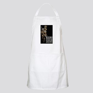 Books Wanted Poster Art BBQ Apron