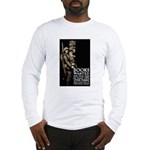 Books Wanted Poster Art (Front) Long Sleeve T-Shir