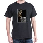 Books Wanted Poster Art (Front) Black T-Shirt