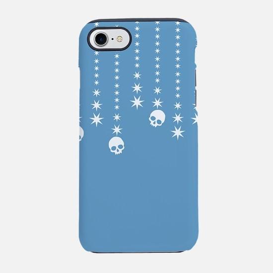 Skull Dangles Winter Blue iPhone 7 Tough Case