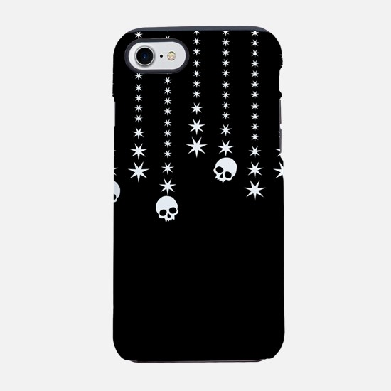 Skull Dangles Gothic Holiday iPhone 7 Tough Case