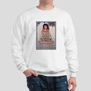 Lest We Perish Famine (Front) Sweatshirt