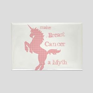 Breast Cancer Myth Rectangle Magnet