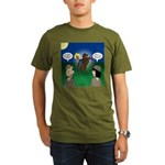 The KNOTS Horseman Organic Men's T-Shirt (dark)