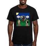 The KNOTS Horseman Men's Fitted T-Shirt (dark)