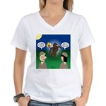 The KNOTS Horseman Women's V-Neck T-Shirt