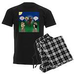 The KNOTS Horseman Men's Dark Pajamas