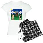The KNOTS Horseman Women's Light Pajamas