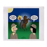 The KNOTS Horseman Throw Blanket
