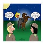 The KNOTS Horseman Tile Coaster
