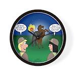 The KNOTS Horseman Wall Clock