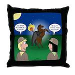 The KNOTS Horseman Throw Pillow