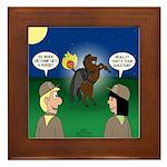 The KNOTS Horseman Framed Tile