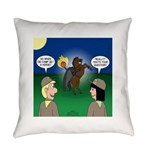 The KNOTS Horseman Everyday Pillow