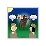 The KNOTS Horseman Square Sticker 3