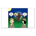 The KNOTS Horseman Sticker (Rectangle 50 pk)