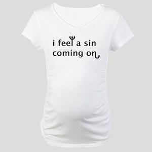 Sin Maternity T-Shirt