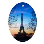Paris Oval Ornament