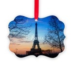 Paris Picture Ornament