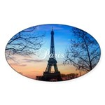 Paris Sticker (Oval)