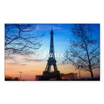 Paris Sticker (Rectangle 10 pk)