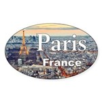 Paris Sticker (Oval 50 pk)