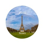 "Paris 3.5"" Button (100 pack)"