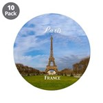 "Paris 3.5"" Button (10 pack)"